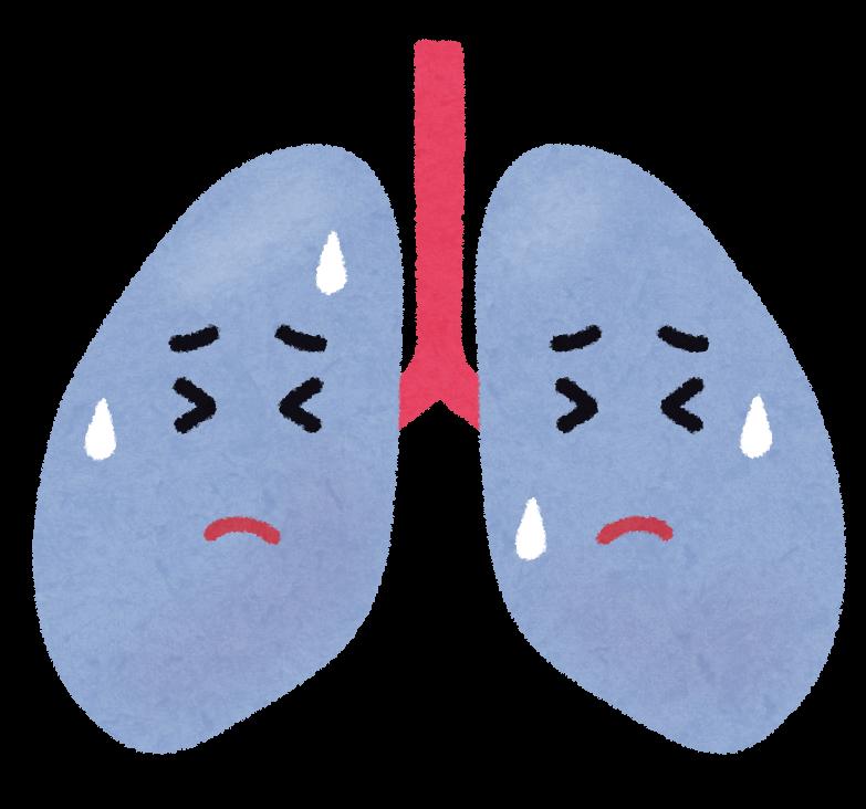 気腫合併肺線維症の症状・予防について